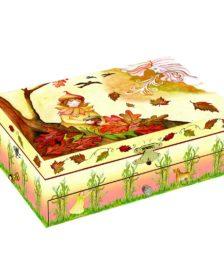 Enchantmints Seasons Falling Leaves Music Box