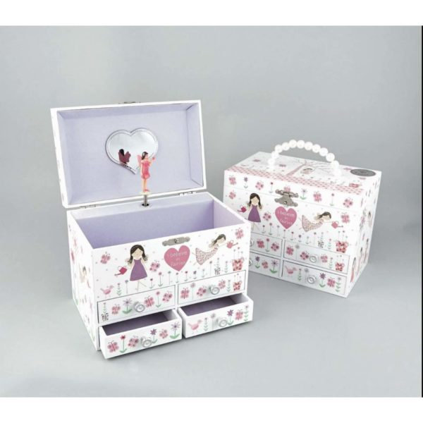 Floss and Rock Fairy Blossom Musical Jewellery Box Large