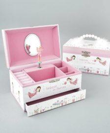 Floss and Rock Fairy Blossom Musical Jewellery Box Medium